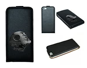 Genuine Leather iphone 4 4s Case Star wars Dearth Star