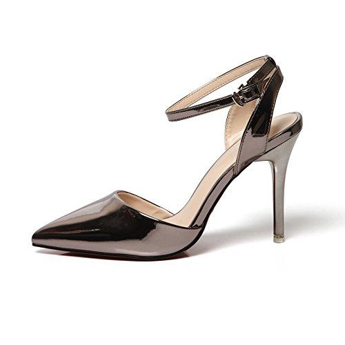 Metálico Mujer Con Sandalias 1to9mmsg00024 Cuña 1to9 nqaTPOwBx