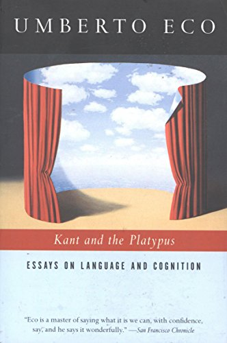 Kant and the Platypus: Essays on Language and Cognition cover
