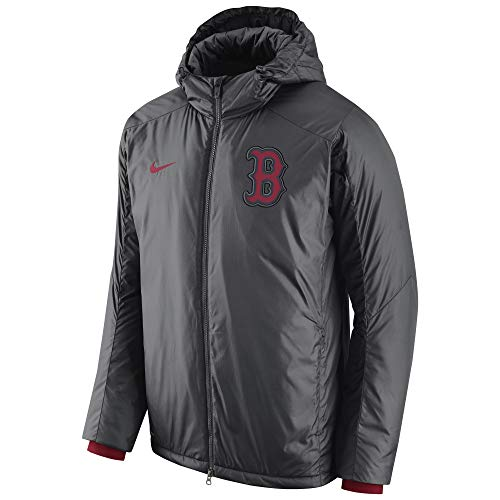 (Men's Nike Yankees MLB Storm-fit Jacket Anthracite Size SMALL)