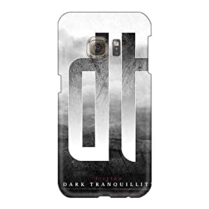 Shockproof Hard Phone Cover For Samsung Galaxy S6 With Unique Design Fashion Dark Tranquility Band Skin EricHowe