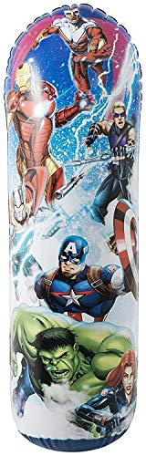 (Holland Plastics Original Brand Official Marvel Avengers Iron Man Bop Bag! Fun for All Ages)