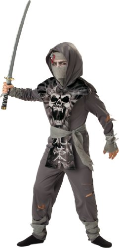 InCharacter Costumes, LLC Boys 2-7 Zombie Ninja Tabard Set