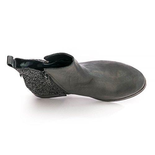 003 Zapatos c0024l Mujer Black para Replay gwl33 gIxZEFUq