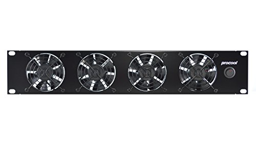 PROCOOL TV480E (2U) Rack Mount Exhaust Fan/High Power Cooling System/Servers / Racks/Cabinets