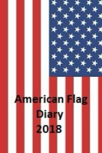 Bandera americana Diary 2018.