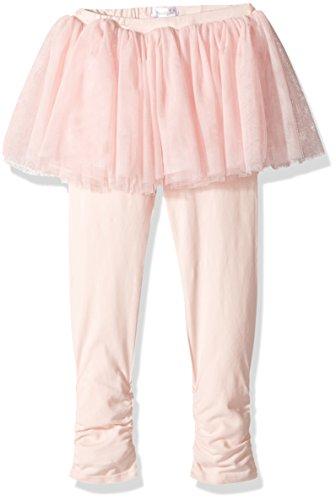 Pie Tutu (Mud Pie Baby Toddler Girls' Rouched Cotton Tutu Leggings, Pink, LG/ 4T-5T)