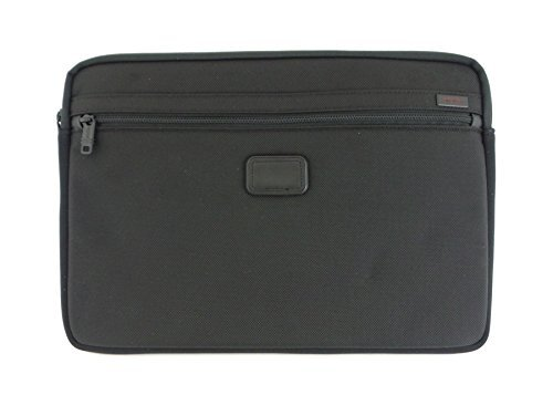 Tumi Slim Nylon Sleeve Case for 15'' Laptops Black TULP-008-NBLK Genuine