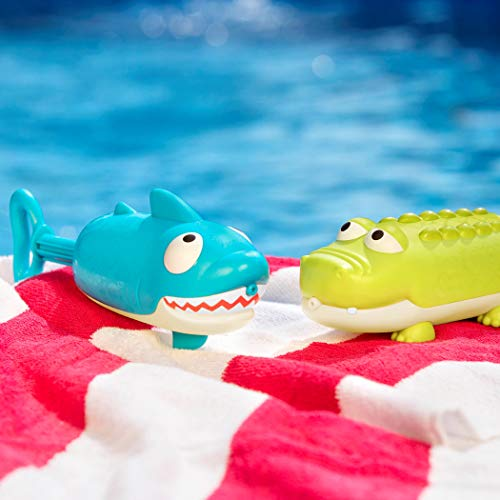 41aWzbRecTL - B toys by Battat – Splishin' Splash Animal Water Squirts Duo Pack – Summer and Water Toys for Kids 18 m+ (2-Pcs)