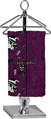 YouCustomizeIt Witches On Halloween Finger Tip Towel - Full Print (Personalized)]()
