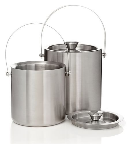 2 Liter Stainless Steel Jamboree Deluxe Ice Bucket with Tongs
