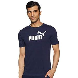 PUMA Essentials Logo Tee M, Maglietta Uomo