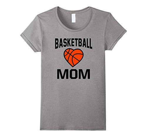 Women's Basketball Mom Shirt Best Gift For Basketball Lover Medium Slate