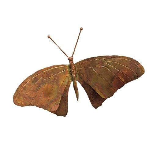 Ancient Graffiti Flamed Copper Wall Mount Butterfly Wall ()