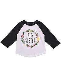 XWDA Toddler Baby Girls Long Sleeve T-shirt Tops