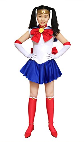 Dazcos Women's Sailor Moon Tsukino Usagi Adult Cosplay Costume (Women XS)