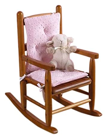 Sensational Baby Doll Bedding Heavenly Soft Child Rocking Chair Cushion Pad Set Pink Chair Is Not Included With The Product Dailytribune Chair Design For Home Dailytribuneorg