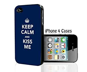 KEEP CALM and KISS ME iPhone 4/4s case