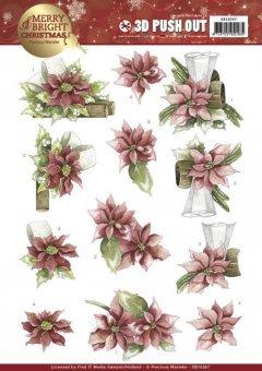 3D-Stanzbogen Blumen 4 Precious Marieke Fantastic Flowers