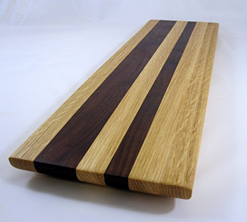 Handmade Cheese Charcuterie long board #A21, serving piece or cutting board with Ogee edge