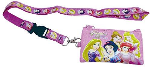Disney Princess Pink Drawstring Lanyard