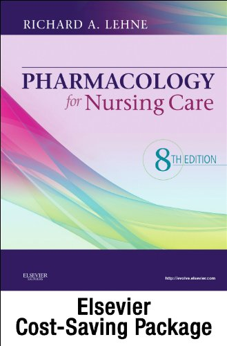 Books : Pharmacology for Nursing Care - Text and Study Guide Package
