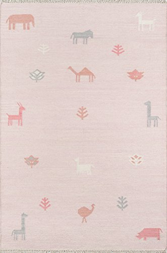 Erin Gates by Momeni Thompson Porter Pink Hand Woven Wool Area Rug 7