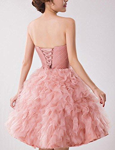 Ballkleid Lactraum Strassstein schulterfrei Brautjungfernkleid Hochzeitskleider Herzausschnitt Abendkleid LF4165 Abschlussball Kleider Abiballkleid qEHwRPxE
