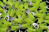 10-12 Gauge Nylon Spade # 10 Connector 500 PK Crimp Terminal AWG Electrical