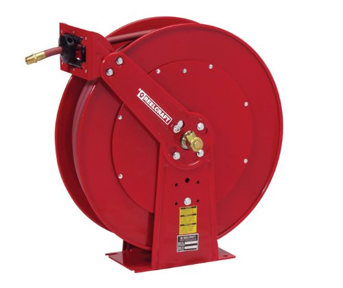 Reelcraft Air/Water Hose Reel - 24In.L x 10 1/2In.W x 25 3/8In.H, 1/2In. x 75Ft., Model# 82075 OLP by Reelcraft