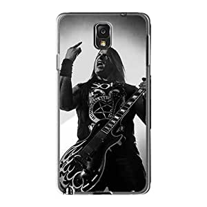 Shock Absorption Cell-phone Hard Cover For Samsung Galaxy Note3 With Support Your Personal Customized Beautiful Coal Chamber Band Pattern Marycase88