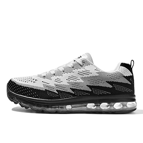 Running Shoes Sneakers for Men Mens Fashion Sports Outdoor Air Cushion Athletic Shoes Trainer Shoe Gray