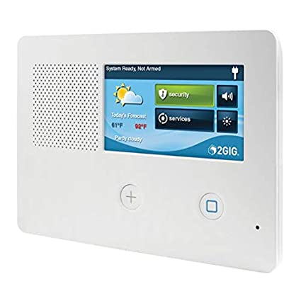 Amazon.com: 2gig GC2E Panel de alarma de seguridad y control ...