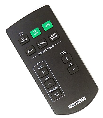 Active Remote (New Replacement Active Speaker Remote Control Fit for RM-ANU102 for Sony SA-32SE1 SA-40SE1 SA-46SE1)
