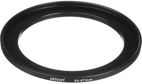 Sensei PRO 55-67mm Aluminum Step-Up Ring