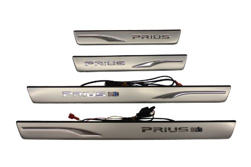 TOYOTA Genuine Accessories PT922-47100 Illuminated Door Sill for Select Prius Models