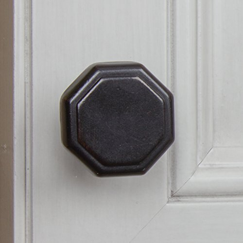 GlideRite Hardware 5330-ORB-25 1.125 inch Diameter Octagon Oil Rubbed Bronze Cabinet Knobs 25 Pack by GlideRite Hardware (Image #4)