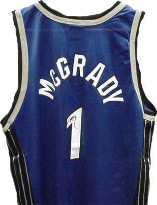 promo code ed76b cb770 Tracy McGrady Signed Jersey - Orlando Magic - Autographed ...