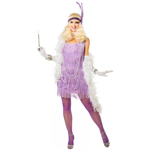 Snazzy Flapper Costume - Medium - Dress Size 8-10 (Great Gatsby Costumes For Men)