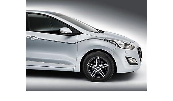 Hyundai Genuine i30 (12 - 12/16) calcomanías para el cuerpo, negro estilo de estilo de juego de calcomanías deportivas oficiales i30 - (12 - 12/16) i30 ...