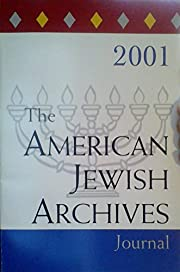 The American Jewish Archives Journal -…