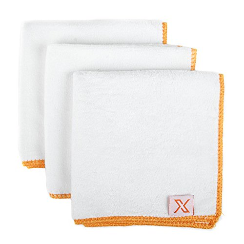 X Ultrasoft Sneaker Cleaning Cloth, 3 PACK! - Microfiber Towel for Superior Sneaker Care by X1