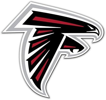 Atlanta Falcons Logo NFL Shop Authentic 12 Magnet Team Banner Helmet//Logo