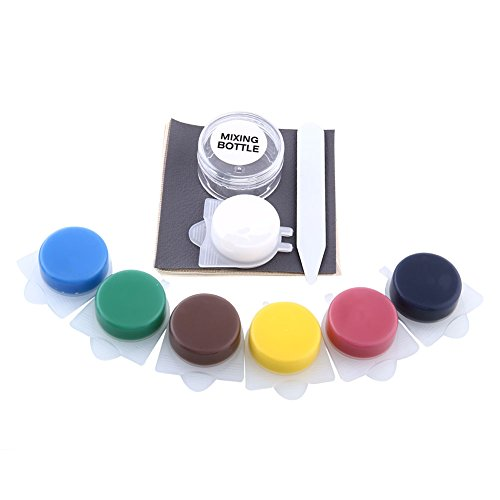 Leaftree Air Dry Leather Repair Kit Reauto Seats Sofas with 7 Colors:
