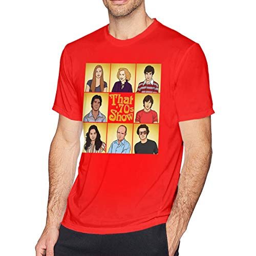 Man That 70s Show Short Sleeve T-Shirt Red Top Tee M