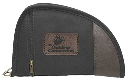 The Outdoor Connection 8'' Canvas Pistol Case, black, 8''