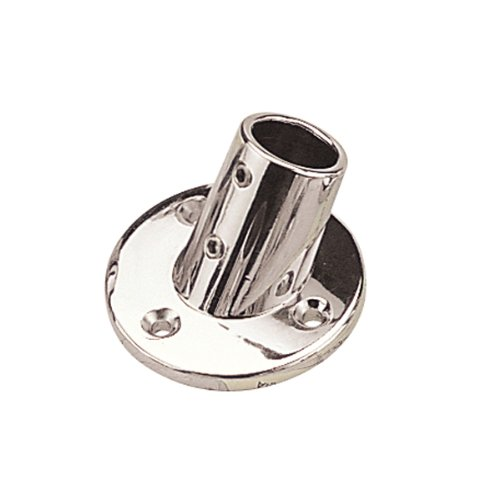 Sea Dog 286060-1 Round Base Rail Fitting, 60° (Sea Dog Fittings)