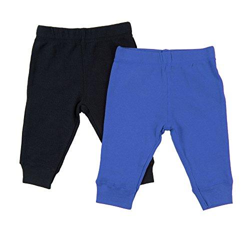 Leveret Baby Legging 2 Pack Navy & Royal Blue 24 Months -