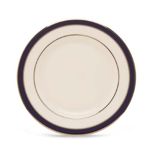 Lenox Federal Cobalt Platinum Bone China Butter Plate ()
