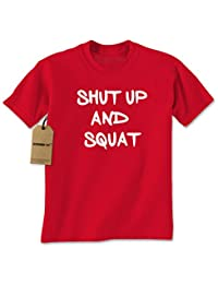 Expression Tees Shut Up And Squat Mens T-shirt
